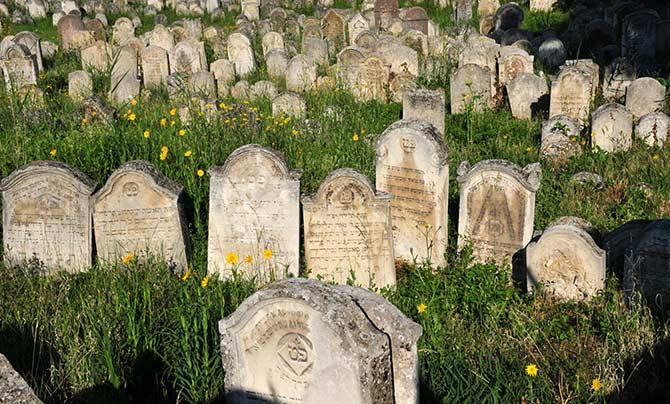 A kismartoni zsidó temető (Fotó: eisenstadt-tourismus.at)