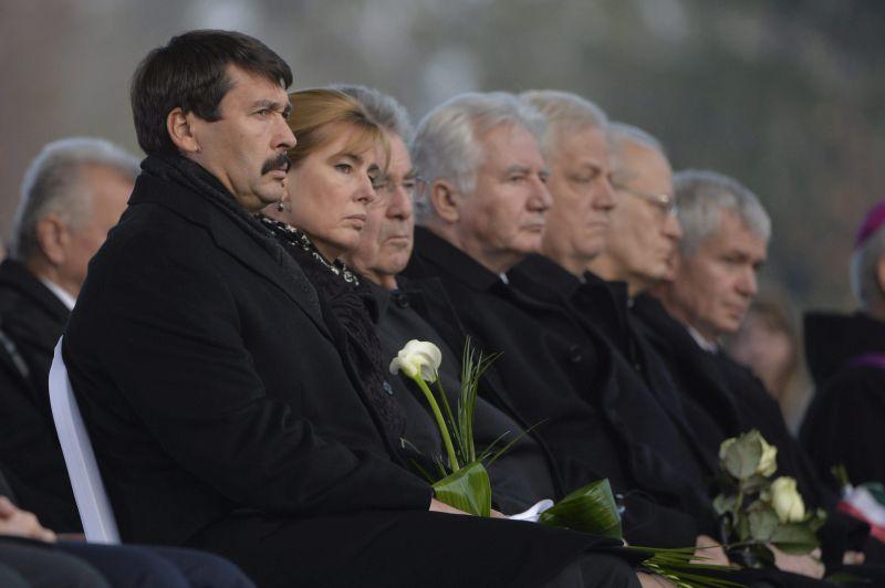Áder János; Polt Péter; FISCHER, Heinz; Jakab István; Erdõ Péter; Herczegh Anita; Tarlós István; Göncz Árpád