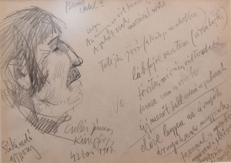 Horváth János vázlatai a Vitalitas Galériában