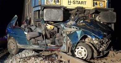 Csornai vasúti baleset