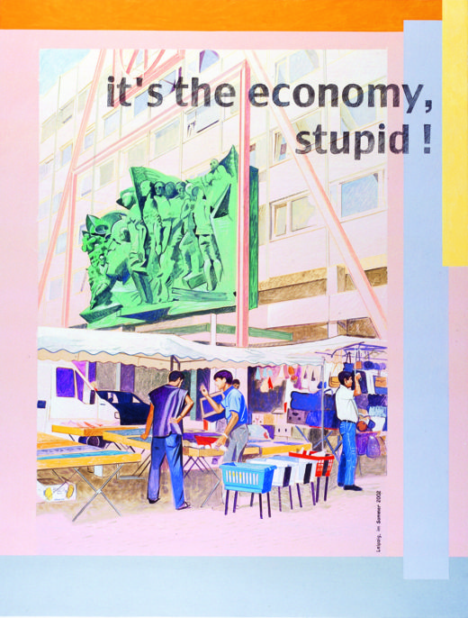 Johanna Kandl, O.T. (It´s the economy, stupid), 2002