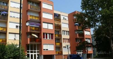 Derkovits lakótelep Szombathely