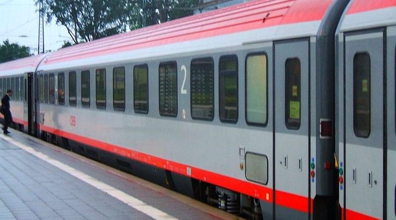 Klasszikus ÖBB vasúti kocsi (a kép csak illusztráció)