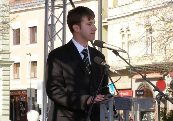 Bana Tibor egy szombathelyi pártrendezvényen (archív fotó)