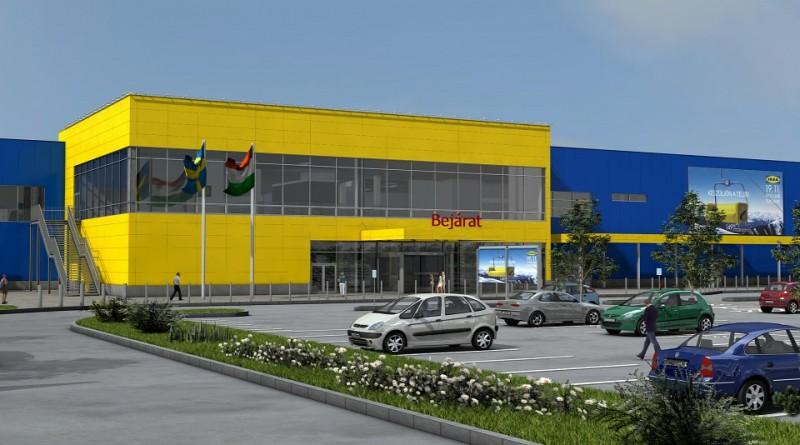 IKEA Soroksár látványterv