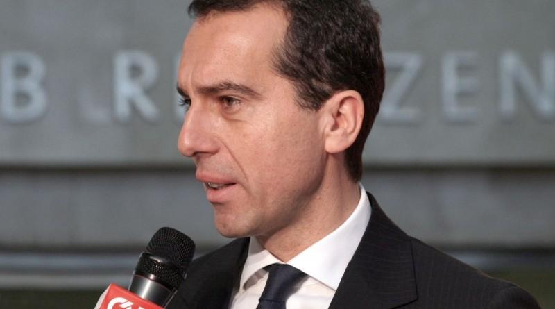 Christian Kern osztrák kancellár