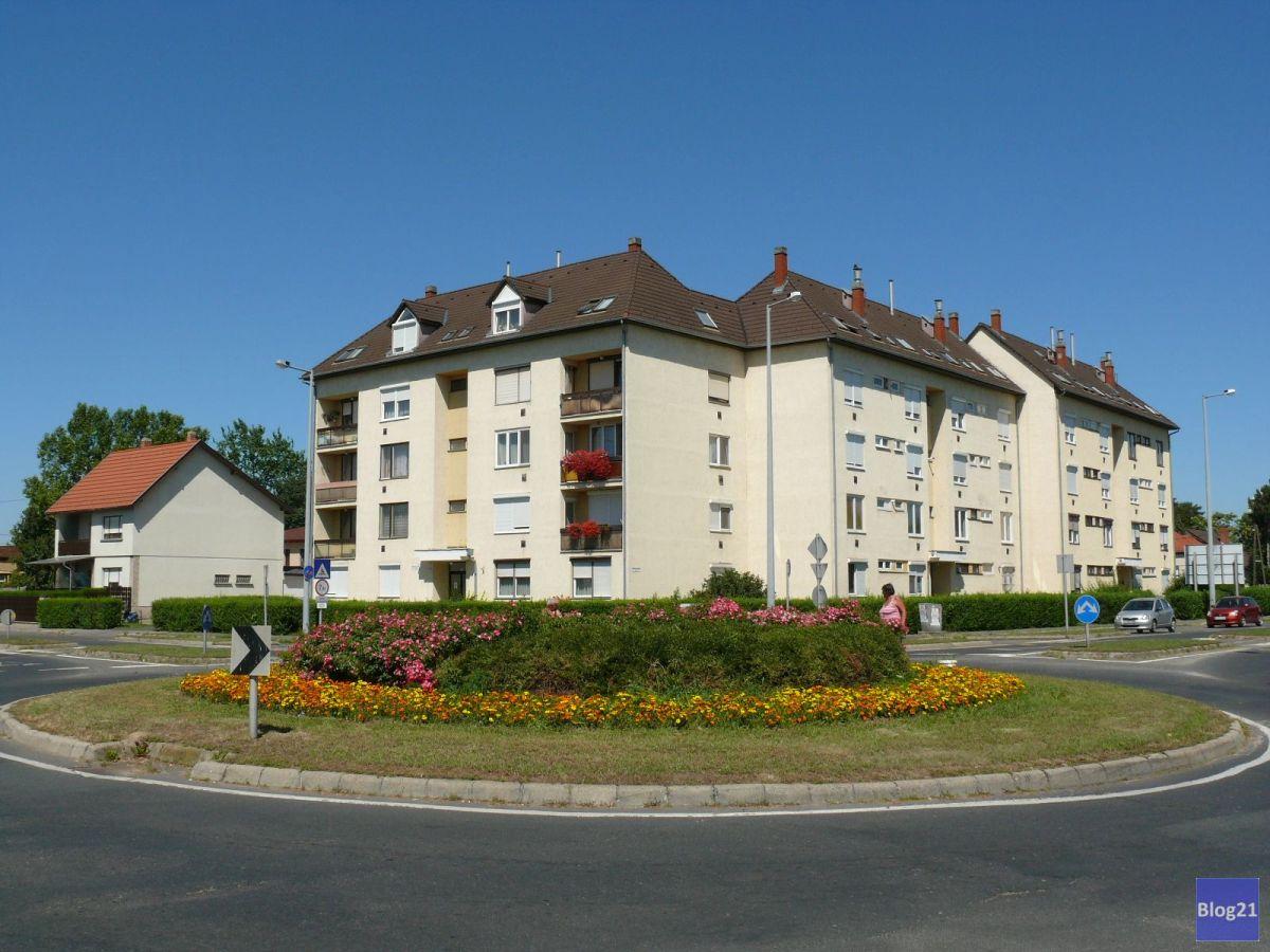 Csaba utca - Hunyadi út kereszteződése