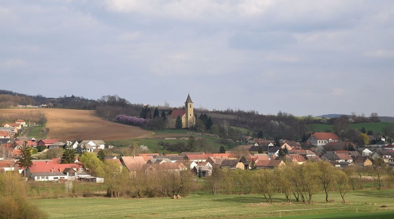 falu, családi házak, Magyarszék, Baranya