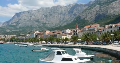 Horvátország, tengerpart, Makarska