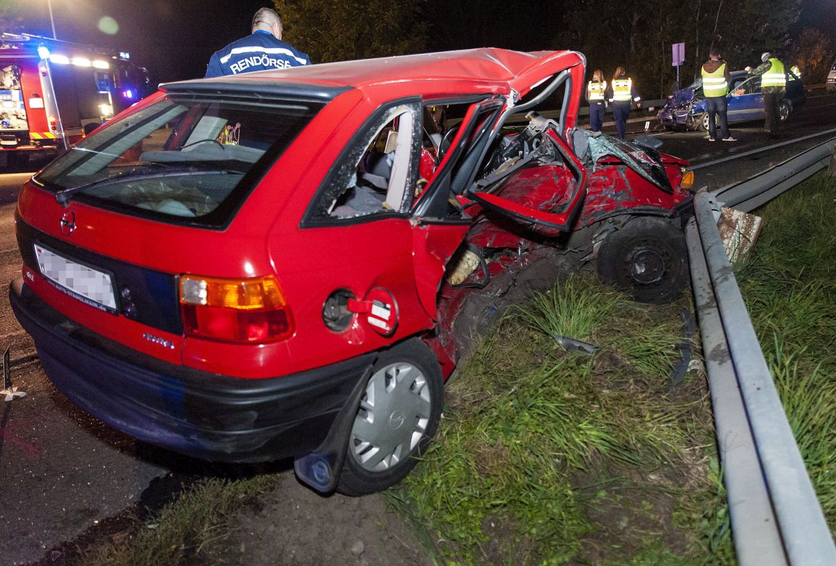 Halálos közúti baleset Gyõrben