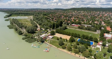 Vonyarcvashegy, Balaton