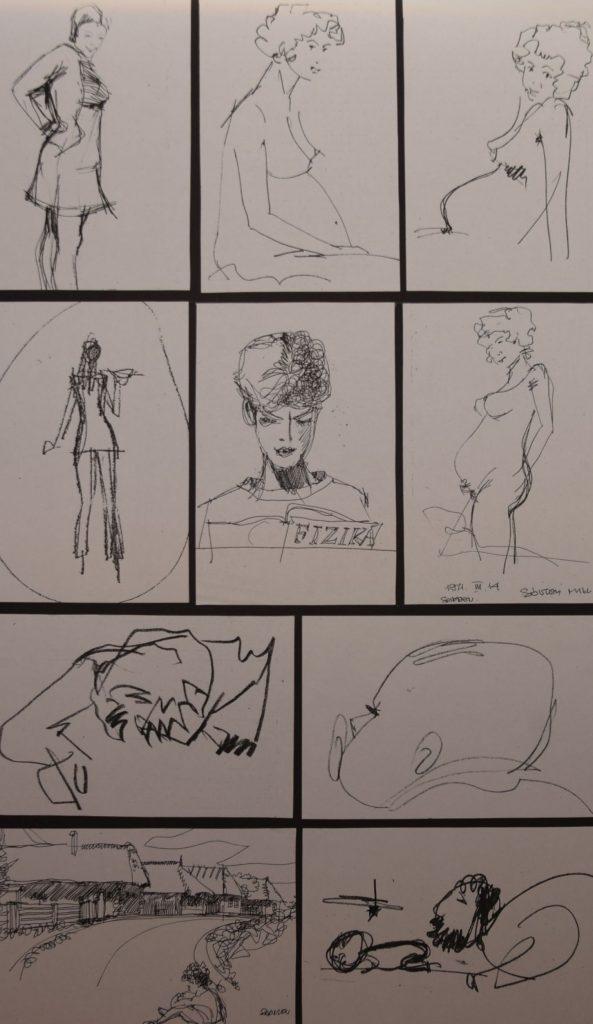 Sólyom Miklós grafikái