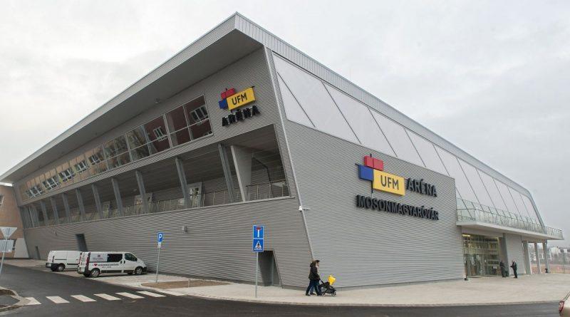 Mosonmagyaróvár, 2017. február 17. Az új UFM Aréna Mosonmagyaróváron 2017. február 17-én, az átadás napján. MTI Fotó: Krizsán Csaba
