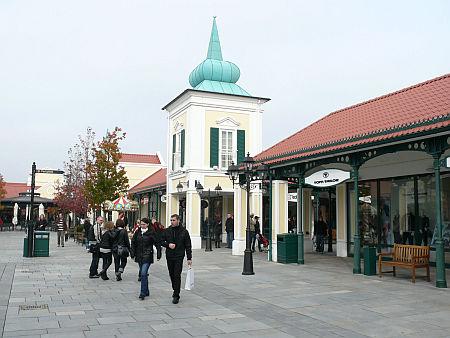 Ausztria, Parndorf outlet