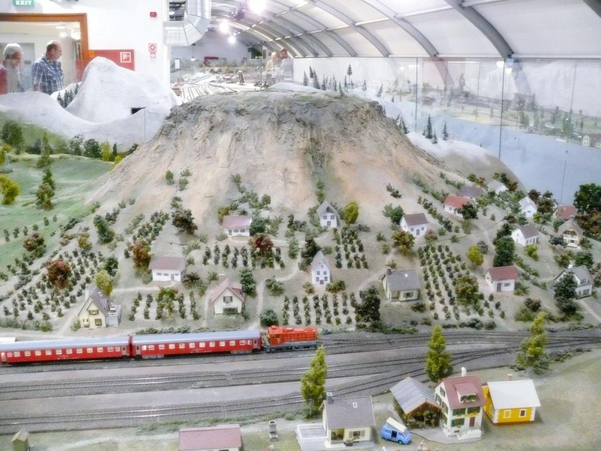 Keszthely, vasútmodel kiállítás