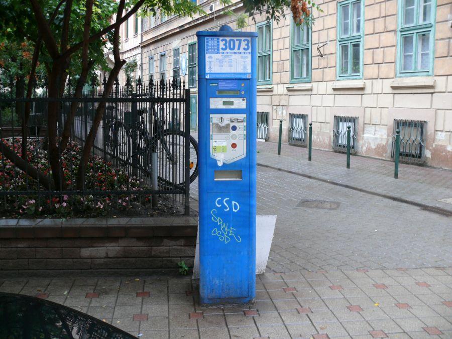 Parkolóóra a hetedik kerületben: nem túl bizalomgerjesztő