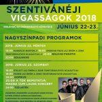 A szombathelyi szentivánéj koncertjei (2018. június 23-24.)