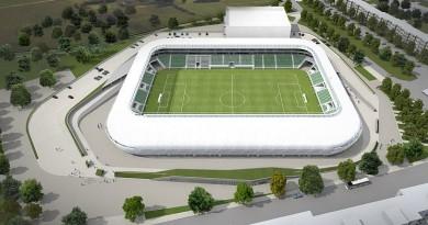 Ilyen lesz az új Haladás Stadion (látványterv)