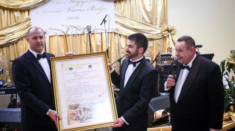 Király Gábor lett az év vasi embere 2016-ban